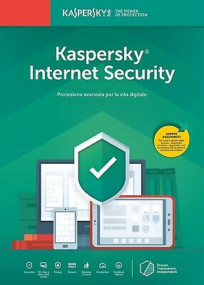 Kaspersky Internet Security 2019 2020 1/2/3 ANNI 1/2/3/5/10 PC