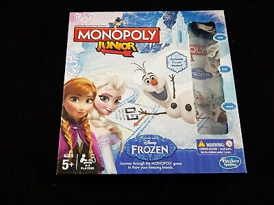 Monopoly Junior Frozen Game Elsa/Anna/Olaf  Disney Board Game