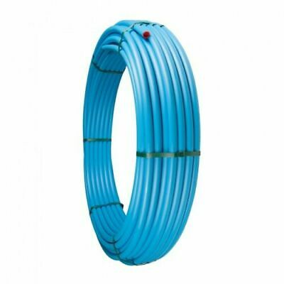 MDPE Blue Water Mains Pipe coil. 20mm & 25mm.  Sold in various lengths.
