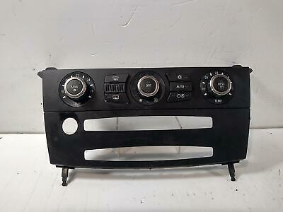 2006 BMW 5 SERIES E60 Diesel Heater Climate Controls 843