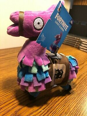 """Fortnite Loot Lama Plush Stuffed Animal Gamer Epic Games By Russ NEW TAG 8"""" TOY"""
