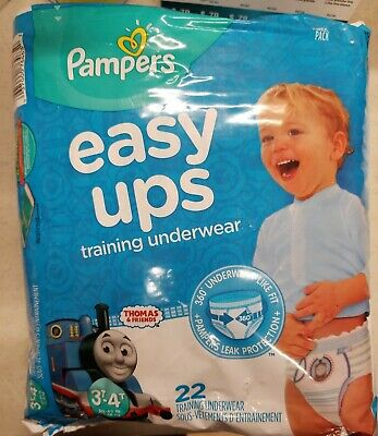 Pampers Boys' Easy Ups Training Underwear, 3T - 4T