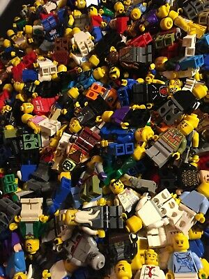 LEGO MINIFIGURES $1.25 EACH ACCESSORY PEOPLE CITY SPACE RANDOMLY PICKED TOYS