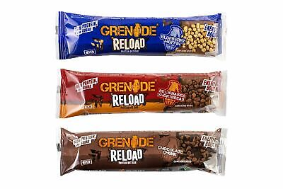 Grenade Reload Protein Oat Bar 12 x 70g **FREE UK DELIVERY** Bars Flapjack NEW
