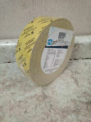 Pig WPL591 2 In x 180 Ft Yellow Chem Resist Seam-Sealing Tape