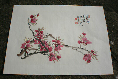 Chinese Ink & Watercolour Painting Print on Rice Paper #01