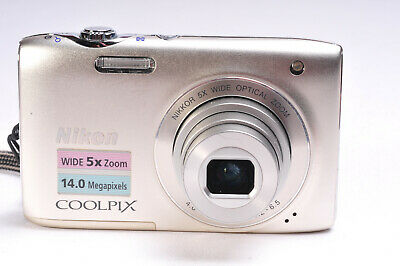 Nikon Coolpix S3100 14MP Compact Digital Camera
