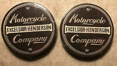 2 Sets Of Excelsior Henderson Cup Or Glass Coasters