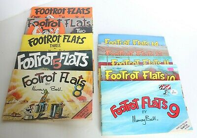 13 Vintage Footrot Flats Comic Books  2 Weekenders and Pocket Book Murray Ball