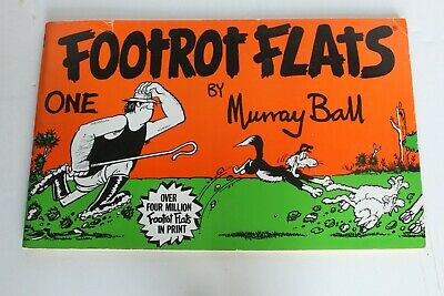 Vintage Footrot Flats One Comic Book Murray Ball