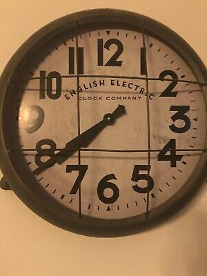 Extra Large Wall Clock – Newgate Electric Battery