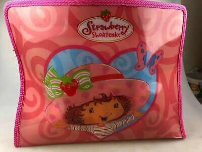 Strawberry Shortcake Picnic Cooking Set In Bag - Plates, Cups, Pie Tins & More