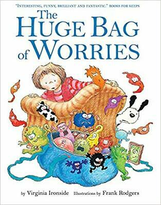 New The Huge Bag of Worries (Board book) Free Postage