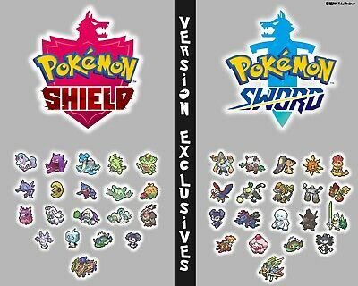 Pokemon Sword and Shield Exclusive Bundles with Master Ball, Shiny 6IV + Mew