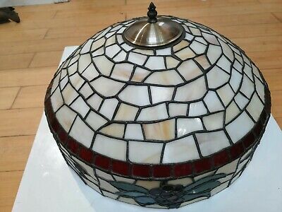 Tiffany Lamp Large  Stained Glass Effect Multi Colour, large, beautiful