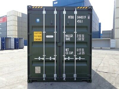Shipping Containers 40 Ft High Cubes Green New Middlesborough £3695+Vat