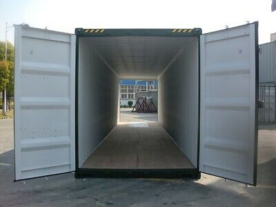 Shipping Containers 40 Ft High Cubes Green Dd £3895+Vat Southampton