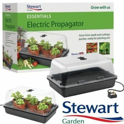 Stewart Essentials Heated Electric Plant Seed Propagator - 38cm