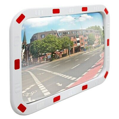 Wide angle security mirror traffic driveway park safety rectangle mirror 40x60cm
