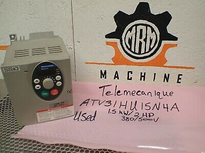 Telemecanique Altivar 31 ATV31HU15N4A 1.5kW/2HP Drive Used With Warranty