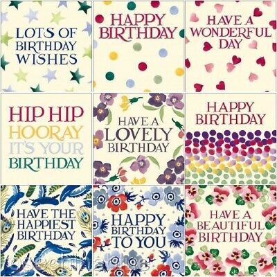Emma Bridgewater Card Birthday