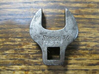 "Snap on 3/8"" Drive 3/4"" Open End FCO24  Crowfoot Wrench FCO-24 FAST SHIPPING"