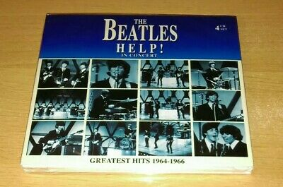THE BEATLES Help! In Concert Greatest Hits 1946-1966 4 x CD SEALED live