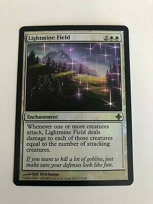 Lightmine Field NM MTG Rise of Eldrazi Magic 2B3