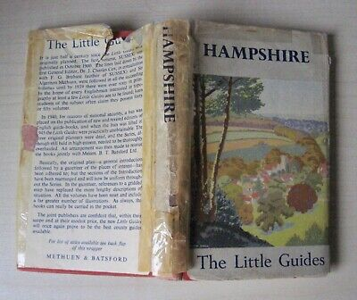 Hampshire The Little Guides J. Charles Cox 1949 Methuen HB in Brian Cook DJ