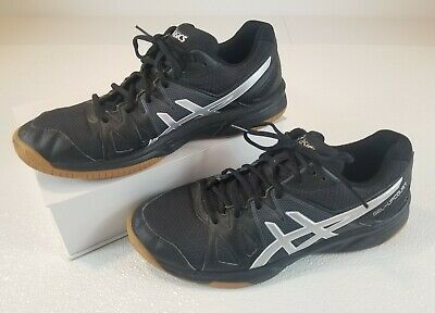ASICS GEL UPCOURT Womens Volleyball Shoes US Size 10 Black