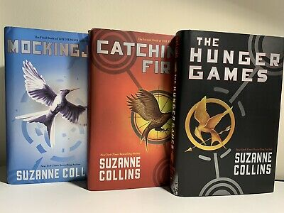 The Hunger Games Trilogy Hardcover Book Set by Suzanne Collins - Pre Owned