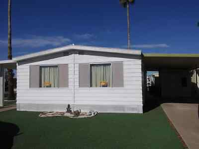 Doublewide Mobile Home for Sale in Mesa, Arizona - 55+ COMMUNITY