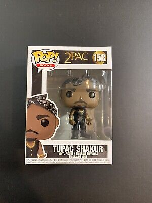 Funko Pop! 2pac Tupac Shakur #158 Collectible Figure IN HAND