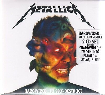 🎁 METALLICA HARDWIRED TO SELF-DESTRUCT 2 CD SET brand new sealed