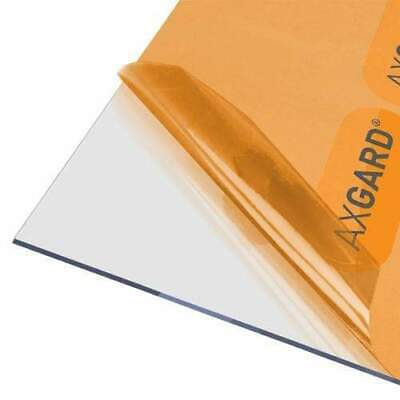 Axgard 3mm Clear UV Protect Polycarbonate Sheet - All Sizes