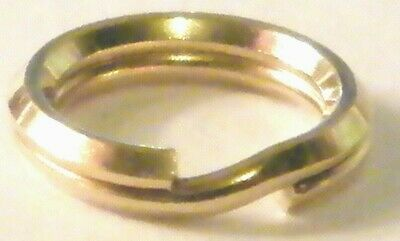 5x  9 Ct Yellow Gold Open Jump rings heavy light 3 4 5 6 7 8 9 mm