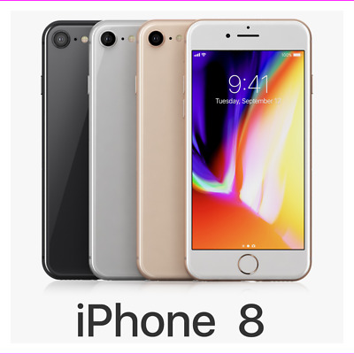 Apple iPhone 8 64GB/128GB Factory Unlocked Verizon Smartphone LTE
