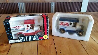 Pepsi Cola gift banks limited editions