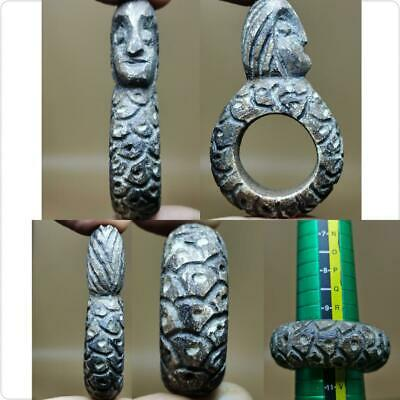 Backtrian Antique Stone Beautiful Unique Ring With Human Face   # 119