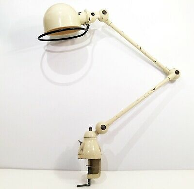 Lampe industrielle atelier JIELDE Industrial Workshop Table Lamp era Gras Ravel