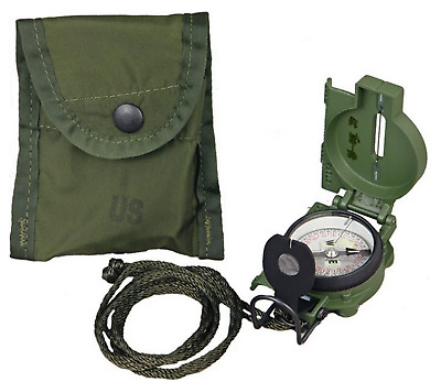 2019 Cammenga 3H Tritium Military Marching Lensatic Compass Model 3-H Od Green