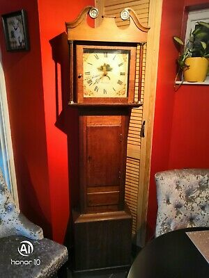 Antique 30 hours Grandfather Clock by Williams 18th century