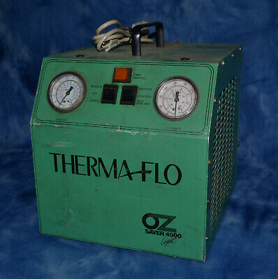 ThermaFlo OZ Saver 4000 light Refrigerant Recovery Machine American Therma Flo