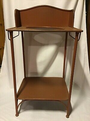 Antique Metal Washstand Basin Stand