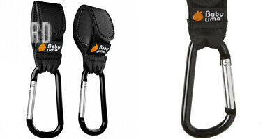 Buggy Clips by Baby Uma - Hook Your Shopping Bags on Small, multicolour