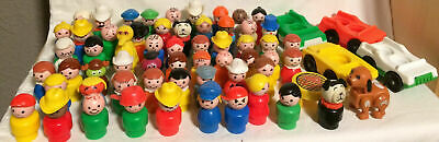 You Choose Vintage Fisher Price Little People 60+ Different Figures! Sesame St+