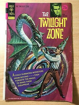 Twilight Zone Comic by Gold Key  # 57 From 1974.