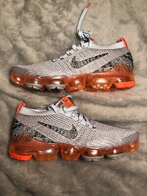 "Nike Air VaporMax Flyknit 3 ""Moon Landing"" Atmosphere Grey Men's Size 9.5"