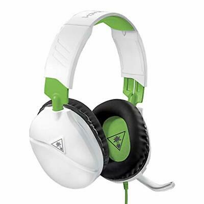 Turtle Beach Recon 70X White Gaming Headset for Xbox One, PS4, Nintendo Switch,