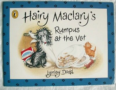 Hairy Maclary's Rumpus At The Vet by Lynley Dodd  - Paperback